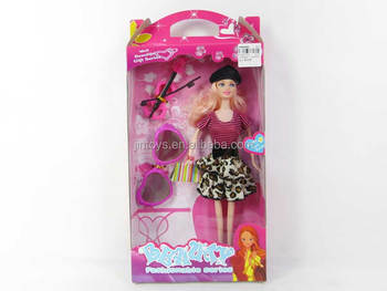 Toys For Girls Product : Solid girl boll plastic doll toys beauty set wholesale kids