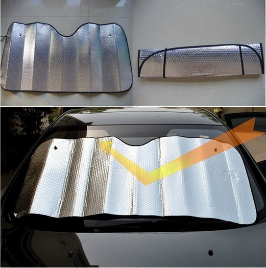Window Foils Windshield Sun Shade Car Windshield Visor Cover Block Front  Window Sunshade UV Protect Car Window Film 130 60cm f61d790eac8