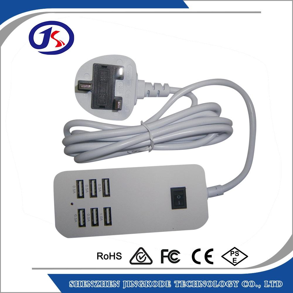 5 v 3 5a 6 port usb multi chargeur pour iphone ipad chargeur id de produit 60577442525 french - Multi chargeur usb ...