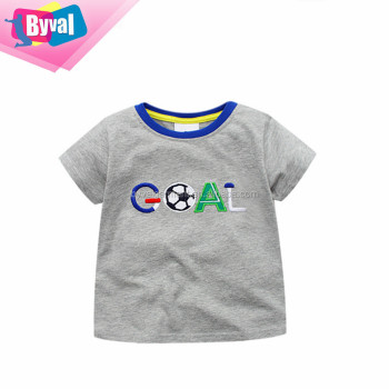 Alibaba Online Shopping High Quality Kids Cartoon T Shirts Custom