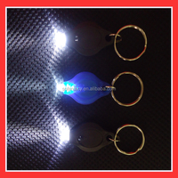 cheapest uv led light keychain,led light up keychain light