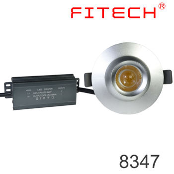 9w Cob Eyeball Focus Led Recessed Light With Spring Clips For ...