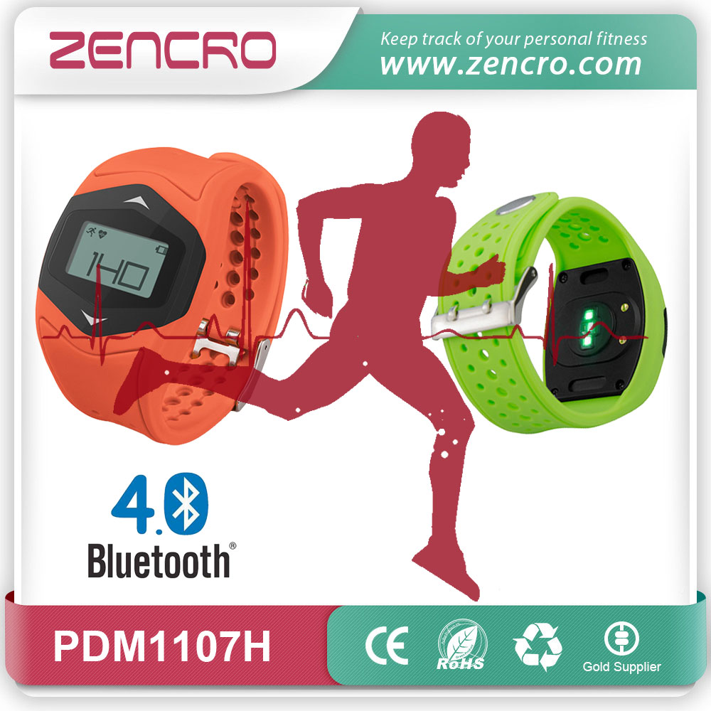 new product outdoor exercise training tracker waterproof 3D pedometer bluetooth heart rate fitness watch