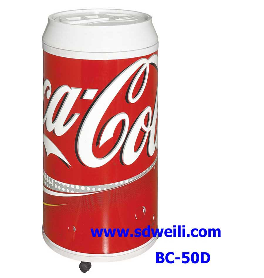 50L foaming top beverage beer can shape cooler(CE RoHS CB)