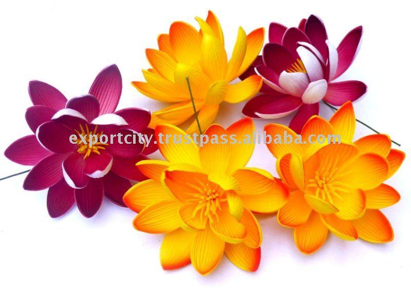 Hawaiian Eva Foam Flowers Lotus (water Lily)