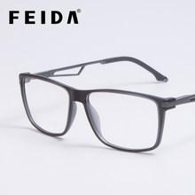 Винтажные квадратные титановые оправы для очков, мужские прозрачные очки с прозрачными линзами TR90, оправа для очков, оправа для оптических ...(Китай)
