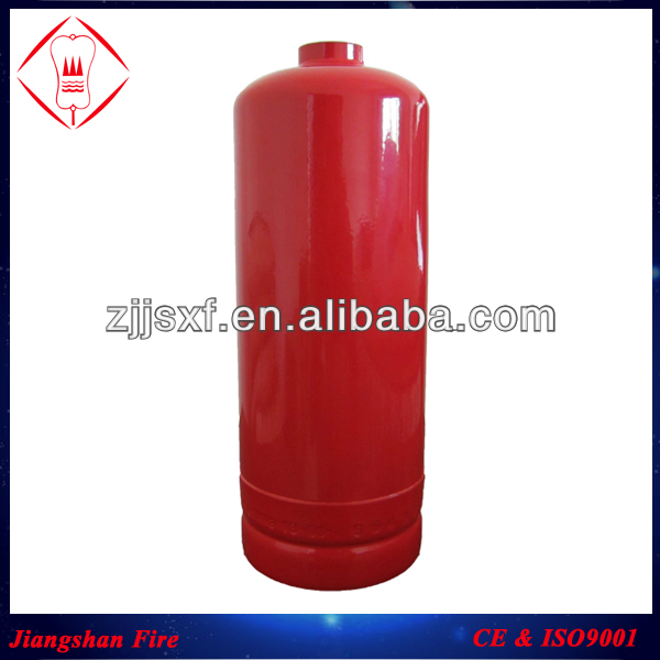3kg dry powder fire extinguisher tank /gas cylinder