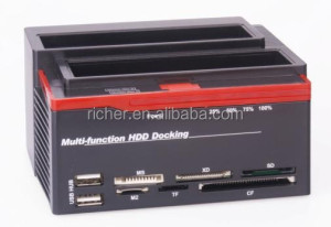 "2.5"" 3.5"" IDE SATA HDD Hard Drive Disk Docking Station with USB2.0"