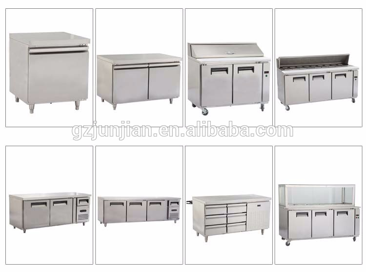 Customized chocolate display cabinet worktable refrigerator