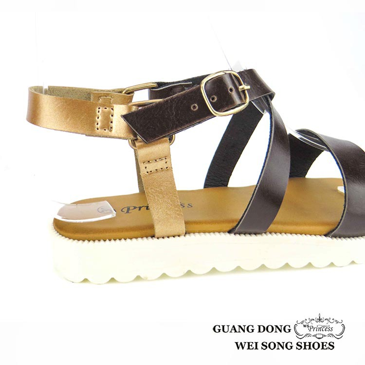 41df3126b854 Guangdong Chanan ankle buckle design thick white bottom simple girl red  high heel sandals