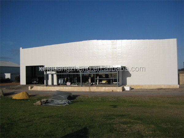 construction design pre-engineered steel structure hangar