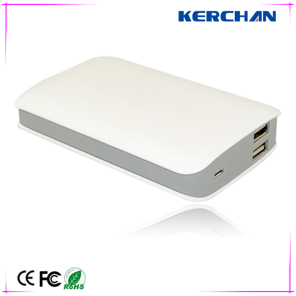 2014 hot selling OEM power bank 6000mah external battery case for samsung galaxy vin i8552