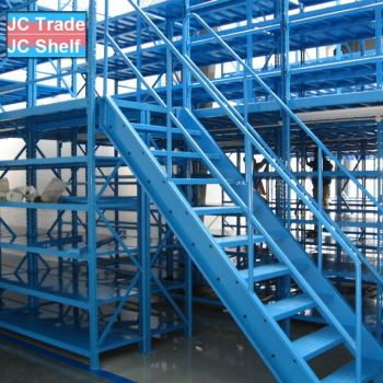 Industry Warehouse Heavy Duty Attic and Pallet Storage Rack Shelves
