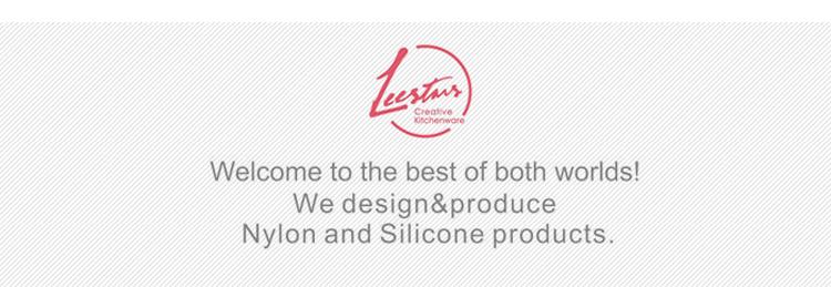 LeeStars Buntes Geschirrset aus Silikon-Küchengeräten