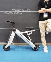 Coswheel 36v 10ah two wheels adult folding electric bike