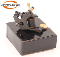 Professional 10 Wrap Coils Cast Iron Liner Rotary Tattoo Machine Kit