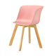 Restaurant Polypropylene Plastic Cafe Chairs With Armrest In China