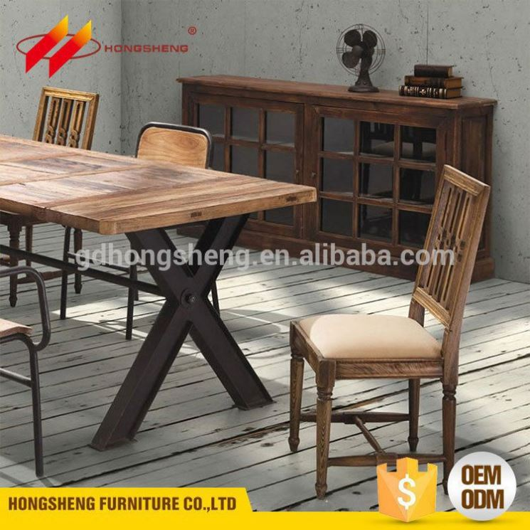 china wholesale market solid wooden formal dining room furniture