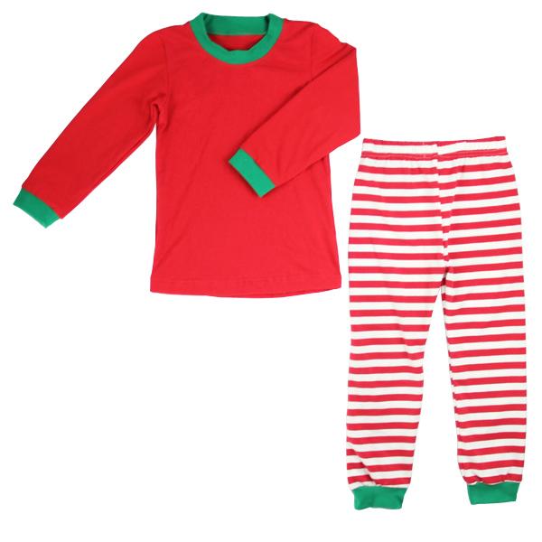 2a36ffc096 High quality baby kids pajama set winter cloth toddler designer clothes  Christmas children blank pajamas boutique pajamas girl