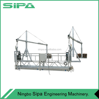 Window Cleaning Suspended Scaffold Gondola Cradle Swing