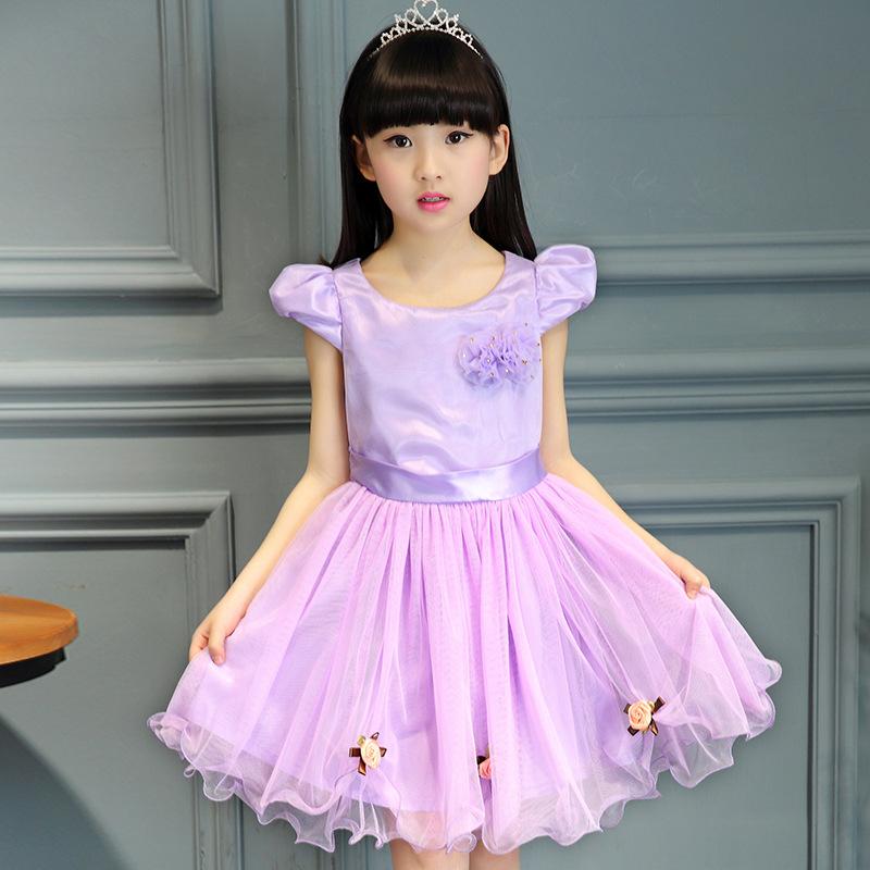 9 Year Old Kids Wedding Dress Promotion Shop For