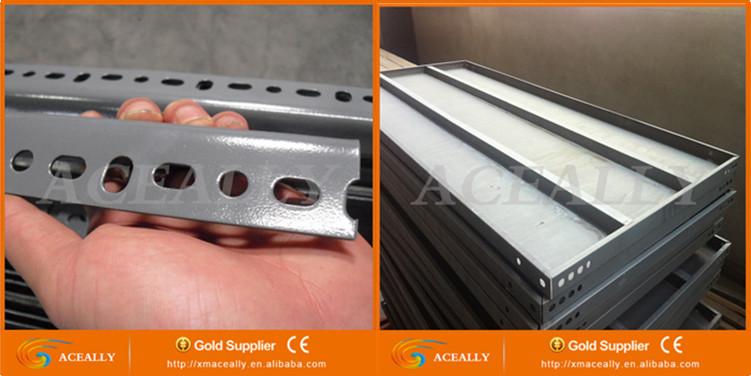 Light Duty Boltless Angle Iron Shelving / Angle Shelving / Slotted ...