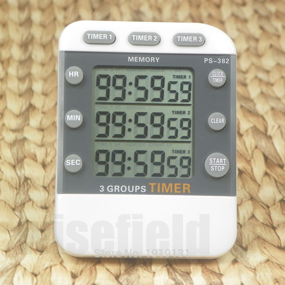 Miti-channel Kitchen Sports Reminder 99 Hours Digital Count down <strong>Timer</strong>