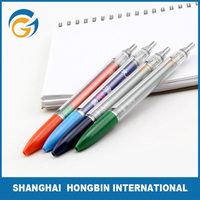 Printing Advertisement Promotion Flag Banner Stand Ball Pen