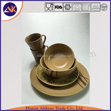 CE certificate high quality cheap bulk ceramic coffee mug with plate from China manufacturer