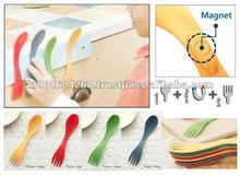 [meina] Plastic Household Plastic kitchenware Rice Paddle Plastic Spoon Fork