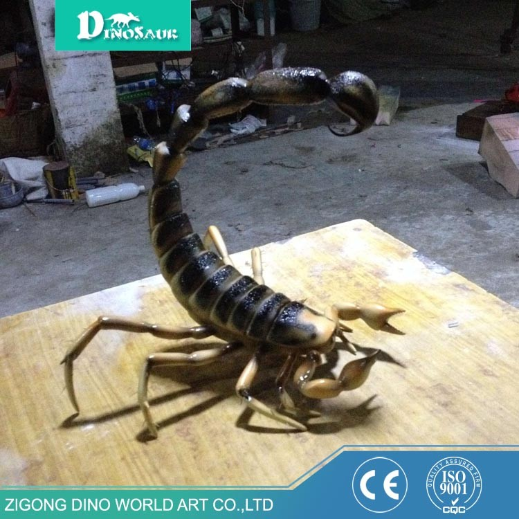 Excellent Quality Low Price Large Fiberglass Outdoor Scorpion Statues