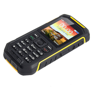 2.4 inch Quad band GSM IP68 Feater waterproof rugged phone alps X6 Dual sim mobile phone