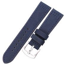 Воловья кожа Ремешки для наручных часов 18 20 22 24 мм для женщин и мужчин Quick Release для Samsung Gear S3 натуральная кожа винтажные часы ремешок(Китай)