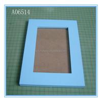 Painted color cheap wooden picture frames wholesale