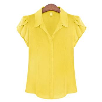 Mulher Encabeça Moda Feminina Verão Camisas Novas Modelo Shell Batwing Camisas Blusa De Chiffon De Manga Curta Buy Senhoras Blusas Topscamisas