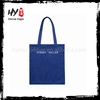 Customized sublimation printed canvas shopping bag with CE certificate
