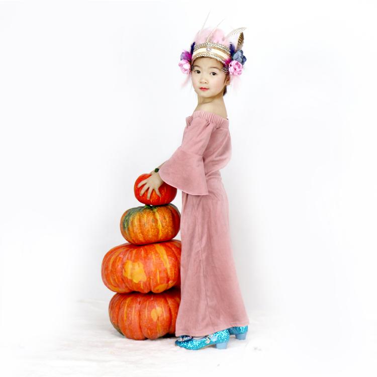 Hot Sale Ruffle Celana Anak-anak Pakaian Warna Solid Ruffle Legging Grosir Bayi Perempuan Ruffle Celana