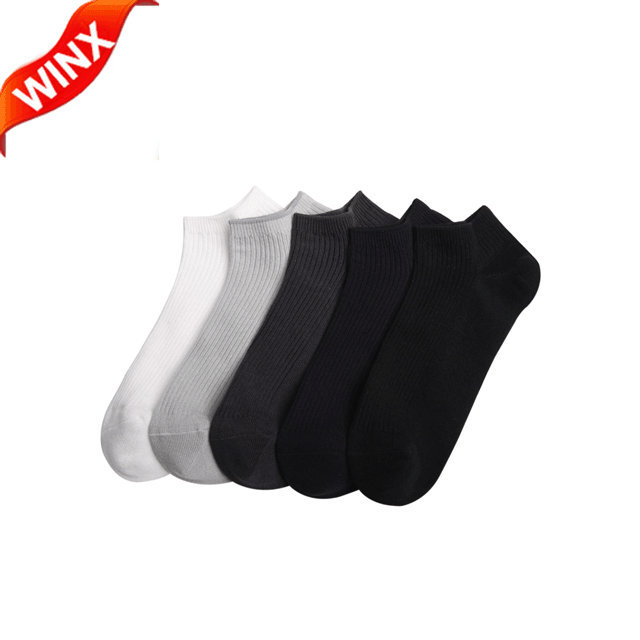 2017 Men 365Wear Supima Anti-Bacterial Socks All-seaon socks Comfortable Deodorant Breathable Man Sock (5 Pairs / unit)