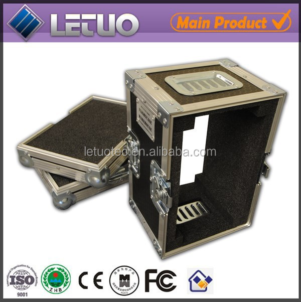 LT-FC260 China wholesale transport equipment road flight case computer case front panel