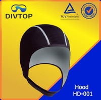 1 mm Neoprene Dive Black Hood For Adult