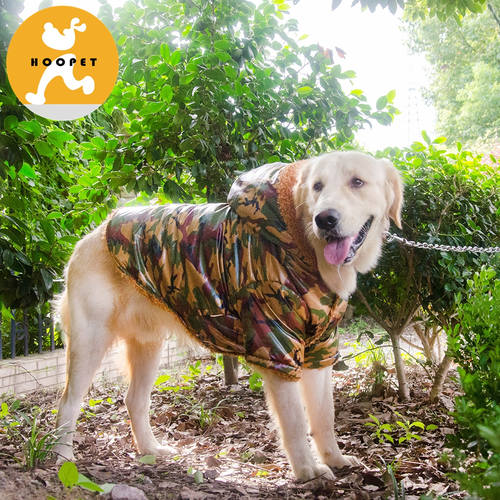 Thicken Warm Pet Jacket Winter Coat Waterproof Army Green for Amazon ebay Fleece 2XL 3XL 4XL 6XL big dog clothes