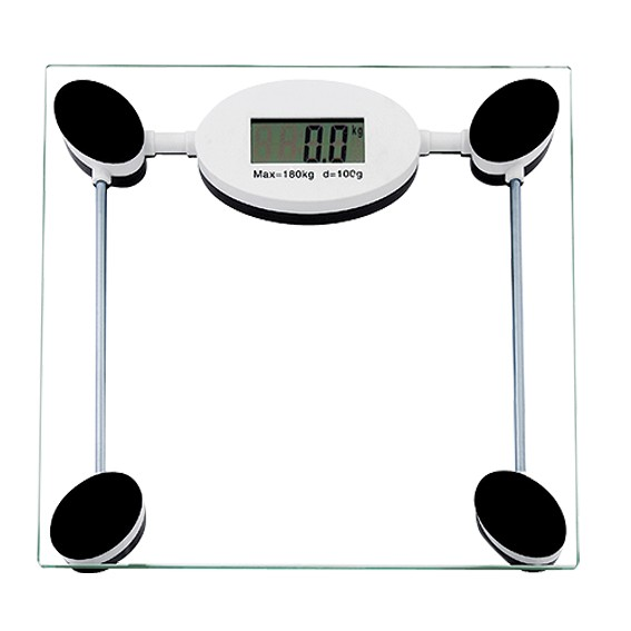 180kg tempered glass electronic personal scale digital bathroom weight scale