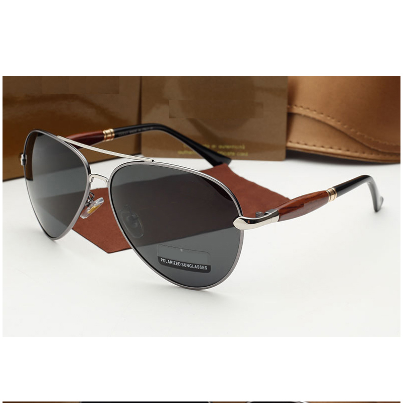102f6066010 Get Quotations · Italian luxury Brand Silver Metal Frame Vintage Polarized  Sunglasses Men Oversized sunglasses Oculos de sol masculino