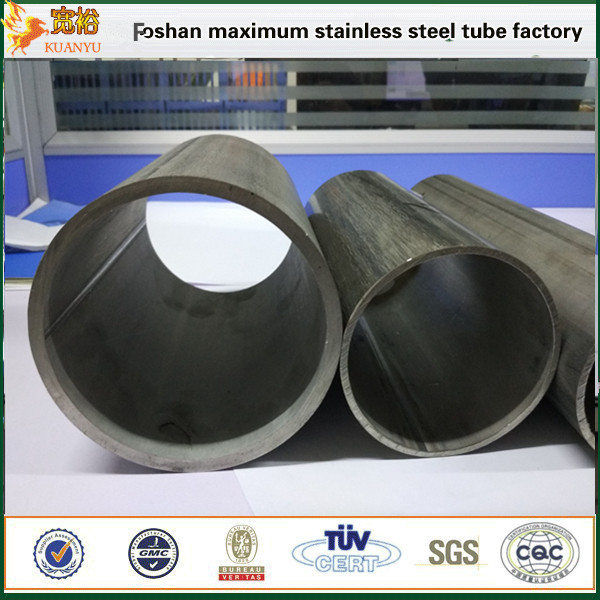 Inox stainless steel 316l ASTM A269 round stainless steel pipes