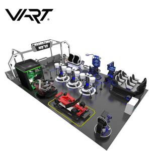 VR Technology Virtual Reality Arcade Game VR Theme Park Equipment From Panyu VART VR Factory