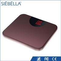 2016 new arrival small scale industries machines digital body weighing scale with LED display
