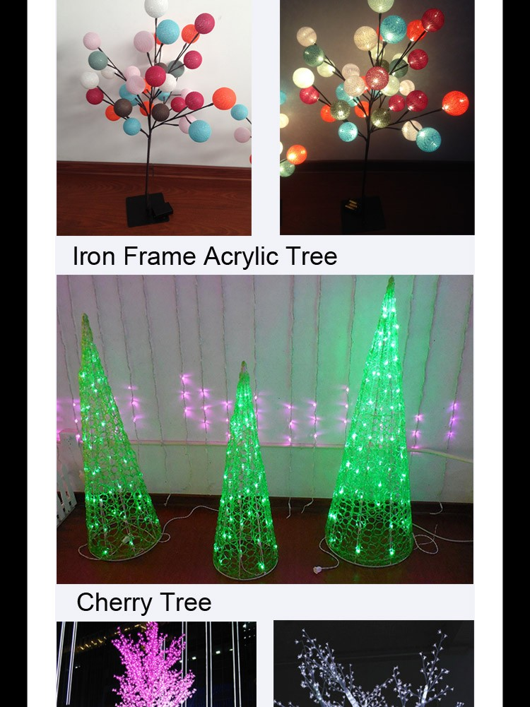 Most Reliable Supplier Multicolor Pre Lit Led Christmas Tree With ...