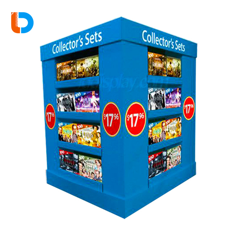 High Quality Long Duration Time Hot Sell Cardboard Pallet Pop Display