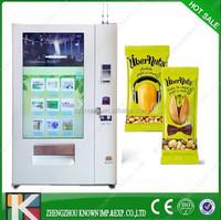 Vending machine soda and snack