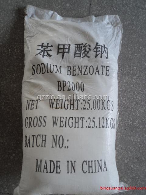 Sodyum benzonat: özellikleri, saflık testi, uygulama